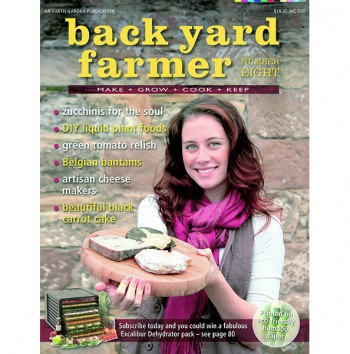 Image for BACK YARD FARMER - MAKE GROW COOK KEEP NUMBER EIGHT