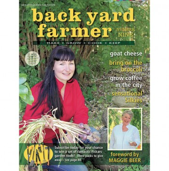 Image for BACK YARD FARMER - MAKE GROW COOK KEEP NUMBER NINE