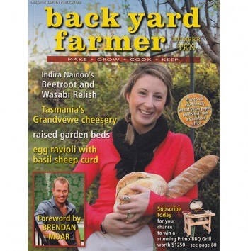 Image for BACK YARD FARMER - MAKE GROW COOK KEEP NUMBER TEN