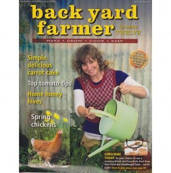 Image for BACK YARD FARMER - MAKE GROW COOK KEEP NUMBER TWELVE