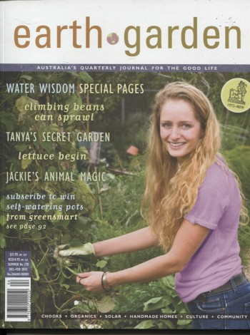 Image for EARTH GARDEN #170 SUMMER Australia's Quarterly Journal for the Good Life