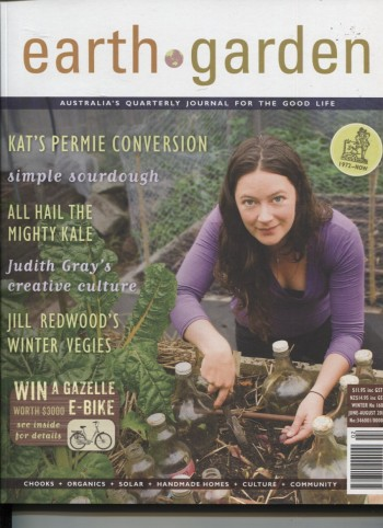 Image for EARTH GARDEN # 168 WINTER Australia's Quarterly Journal for the Good Life