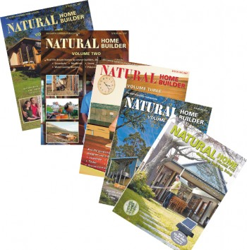 Image for NATURAL HOME BUILDER Volumes 1, 2, 3, 4, and Natural Home Vol 5.