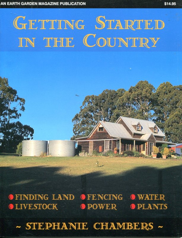 Image for GETTING STARTED IN THE COUNTRY