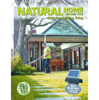 Image for NATURAL HOME : FIVE Designing, Building, Living