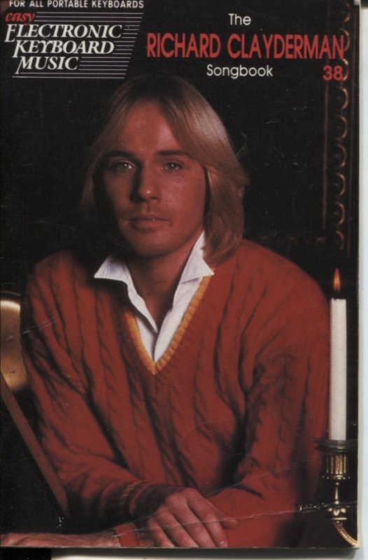 Image for RICHARD CLAYDERMAN SONGBOOK