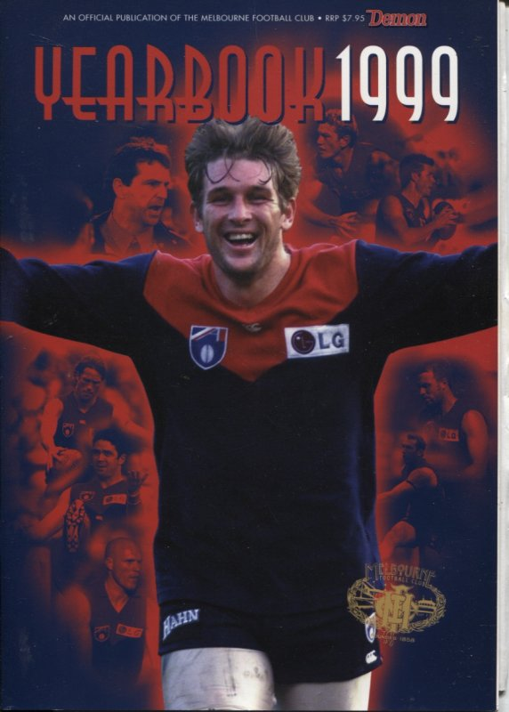 Image for MELBOURNE YEARBOOK 1999