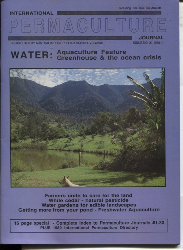 Image for INTERNATIONAL PERMACULTURE JOURNAL Issue #31 1989 - 1