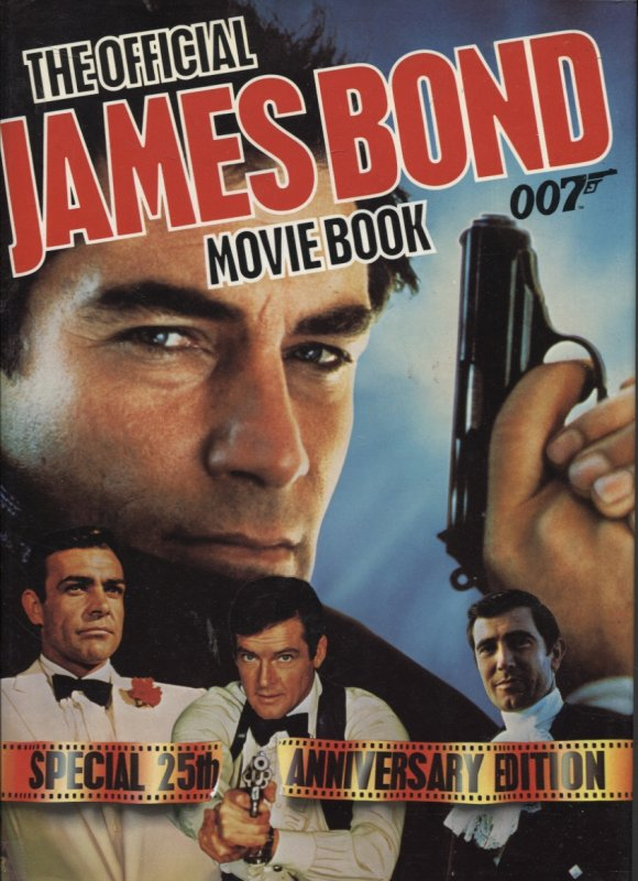 Image for OFFICIAL JAMES BOND MOVIE BOOK Special 25th Anniversary Edition