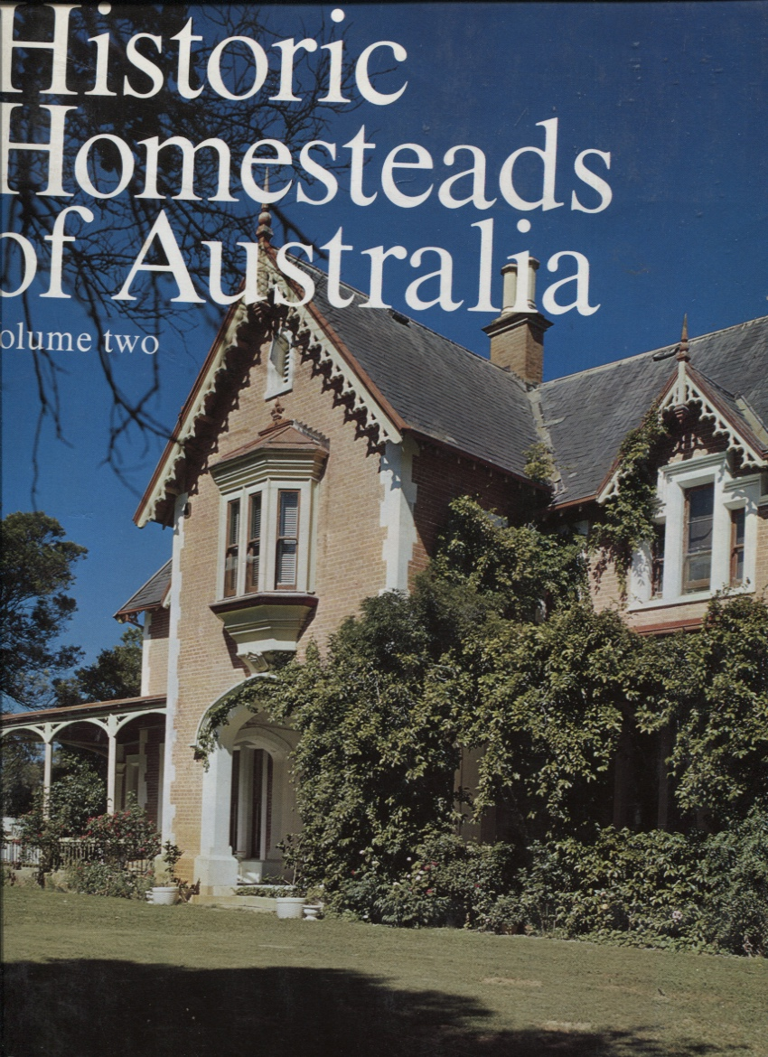 Image for HISTORIC HOMESTEADS OF AUSTRALIA- VOLUME TWO