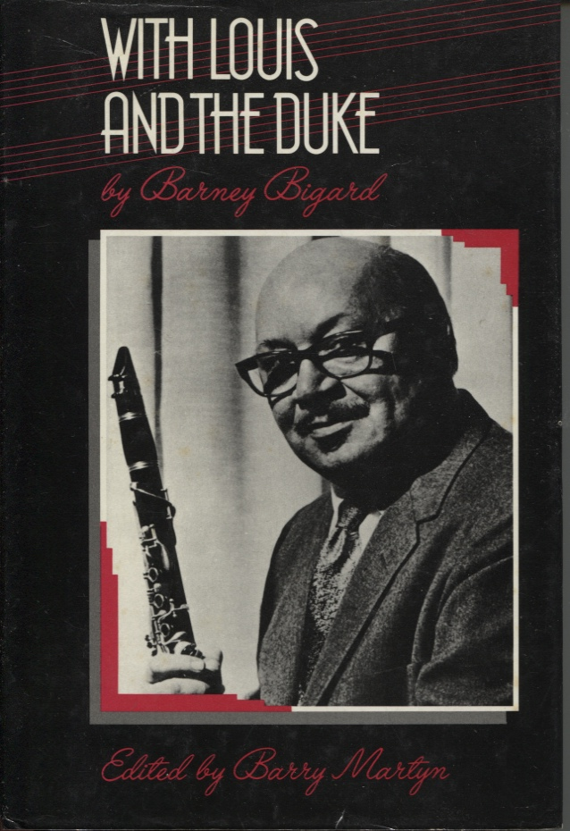 Image for WITH LOUIS AND THE DUKE : THE AUTOBIOGRAPHY OF A JAZZ CLARINETIST