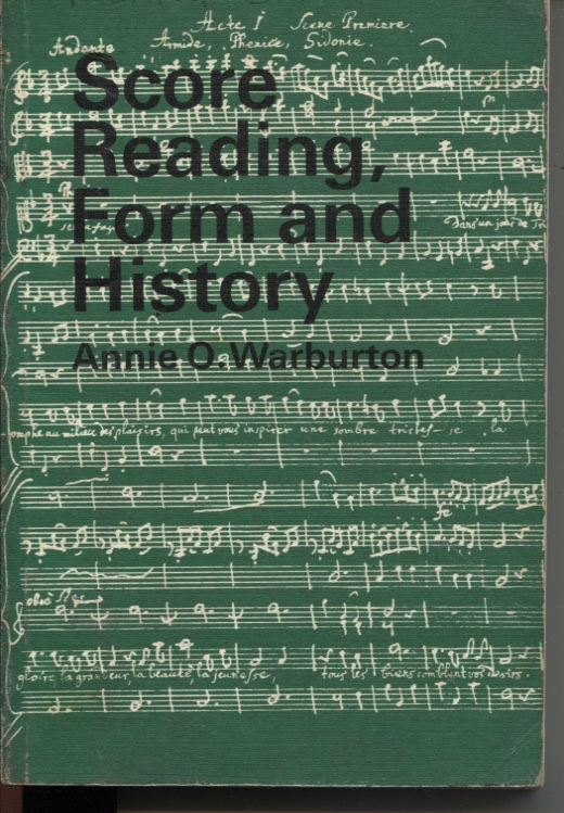 Image for SCORE READING, FORM AND HISTORY : A GUIDED MUSIC COURSE FOR SCHOOLS, BOOK IV