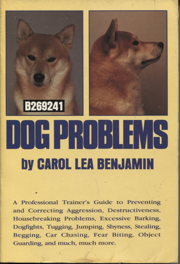 Image for Dog Problems   A Professional Trainer's Guide to Preventing and Correcting Agression, Destructiveness, Housebreaking Problems, Excessive Barking, Dogfights, Tugging Jumping, Shyness, Stealing Begging, Car Chasing, Fear Biting, Object Guarding and Much, Much More