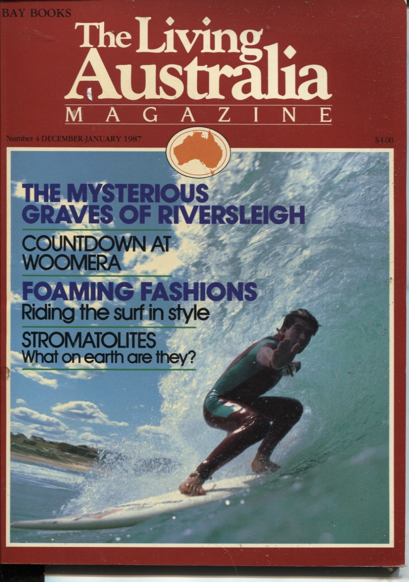 Image for THE LIVING AUSTRALIA MAGAZINE : DECEMBER JANUARY 1987