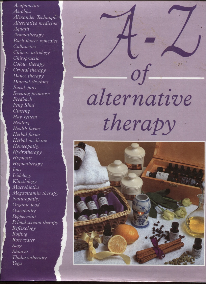 Image for A-Z of Alternative Therapy
